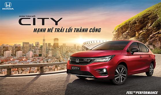 Honda Việt Nam chính thức ra mắt Honda City thế hệ thứ 5 - Mạnh mẽ trải lối thành công -