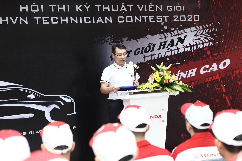 """Honda Việt Nam tổ chức Vòng chung kết toàn quốc Hội thi """"Kỹ thuật viên giỏi 2020"""""""