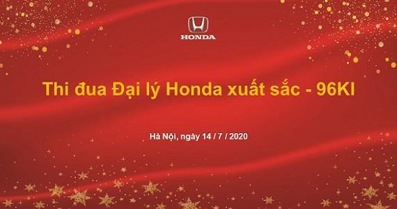 Tổng kết hoạt động thi đua Đại lý Honda Ôtô trong năm tài chính 2020*