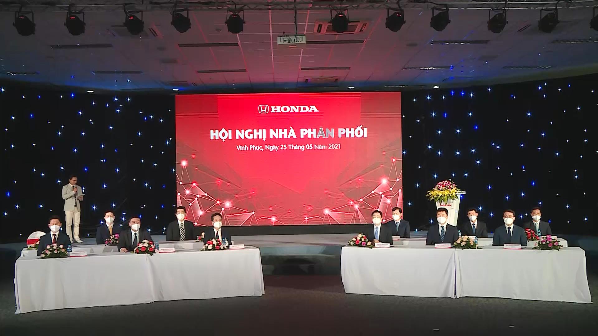 Tổng kết hoạt động thi đua Nhà Phân Phối Honda Ôtô trong năm tài chính 2021