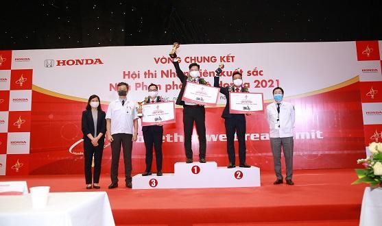 Honda Việt Nam tổ chức thành công Vòng chung kết  Hội thi Nhân viên xuất sắc – Nhà Phân phối Ôtô Honda năm 2021