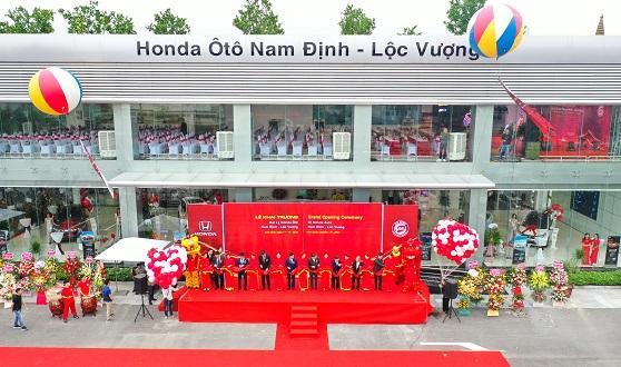 Chính thức khai trương Đại lý Honda Ôtô Nam Định – Lộc Vượng