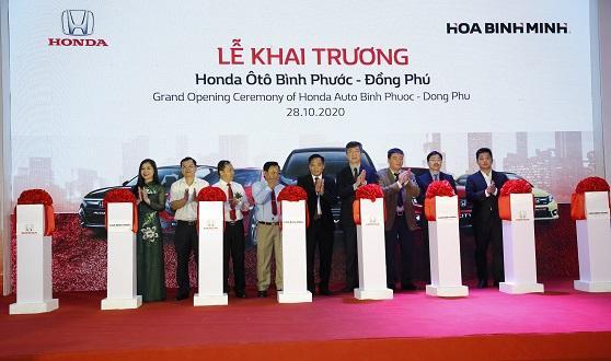 Tưng bừng khai trương Đại lý Honda Ôtô Bình Phước – Đồng Phú