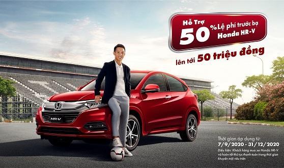 Đừng bỏ lỡ cơ hội sở hữu Honda HR-V 2020 phong cách thể thao, tiện nghi với ưu đãi vô cùng hấp dẫn lên tới 50 triệu đồng