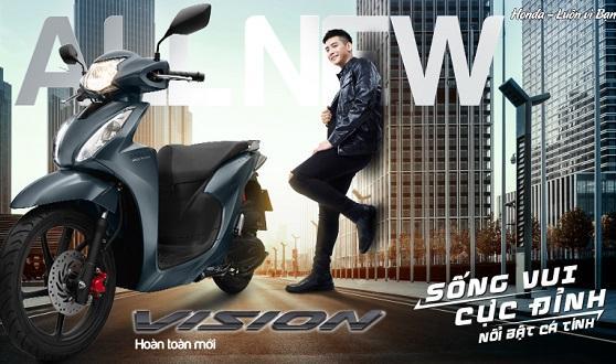 Honda Việt Nam giới thiệu Honda VISION hoàn toàn mới  - Sống vui cực đỉnh -