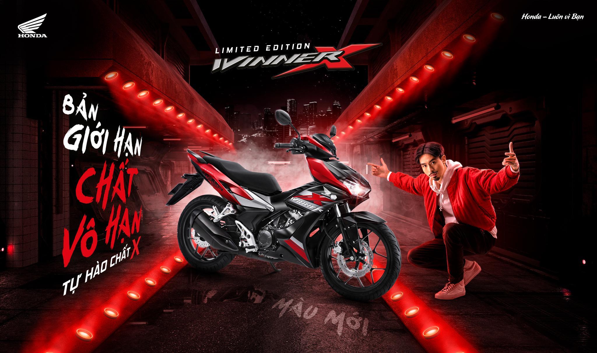 """Honda Việt Nam giới thiệu phiên bản màu giới hạn cho siêu phẩm WINNER X  - """"Bản giới hạn – Chất vô hạn"""" -"""