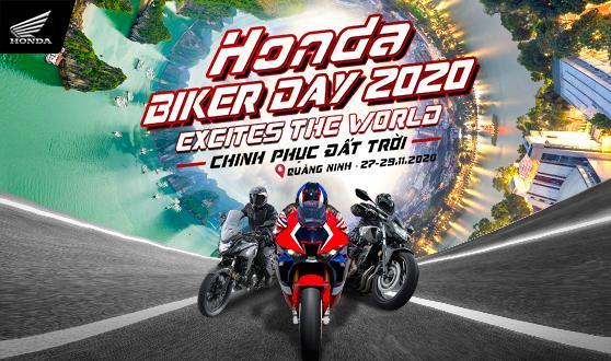 """Honda Việt Nam cùng gần 200 biker """"Chinh phục đất trời"""" Quảng Ninh tại  Đại hội Mô tô Honda – Honda Biker Day 2020"""
