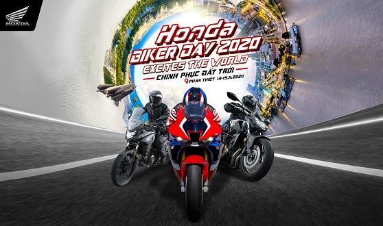 """Hơn 200 khách hàng cùng Honda Việt Nam """"Chinh phục đất trời"""" trong  Đại hội Mô tô Honda – Honda Biker Day năm 2020"""