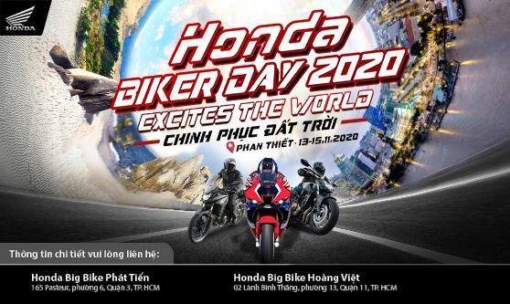 """Hơn 200 khách hàng cùng Honda Việt Nam """"Chinh phục đất trời"""" trong  Đại hội Mô tô Honda – Honda Biker Day 2020"""