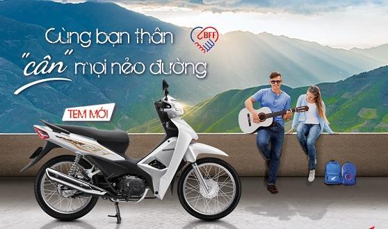 """Honda Việt Nam giới thiệu phiên bản mới Wave Alpha 110cc -""""Cùng bạn thân cân mọi nẻo đường""""-"""