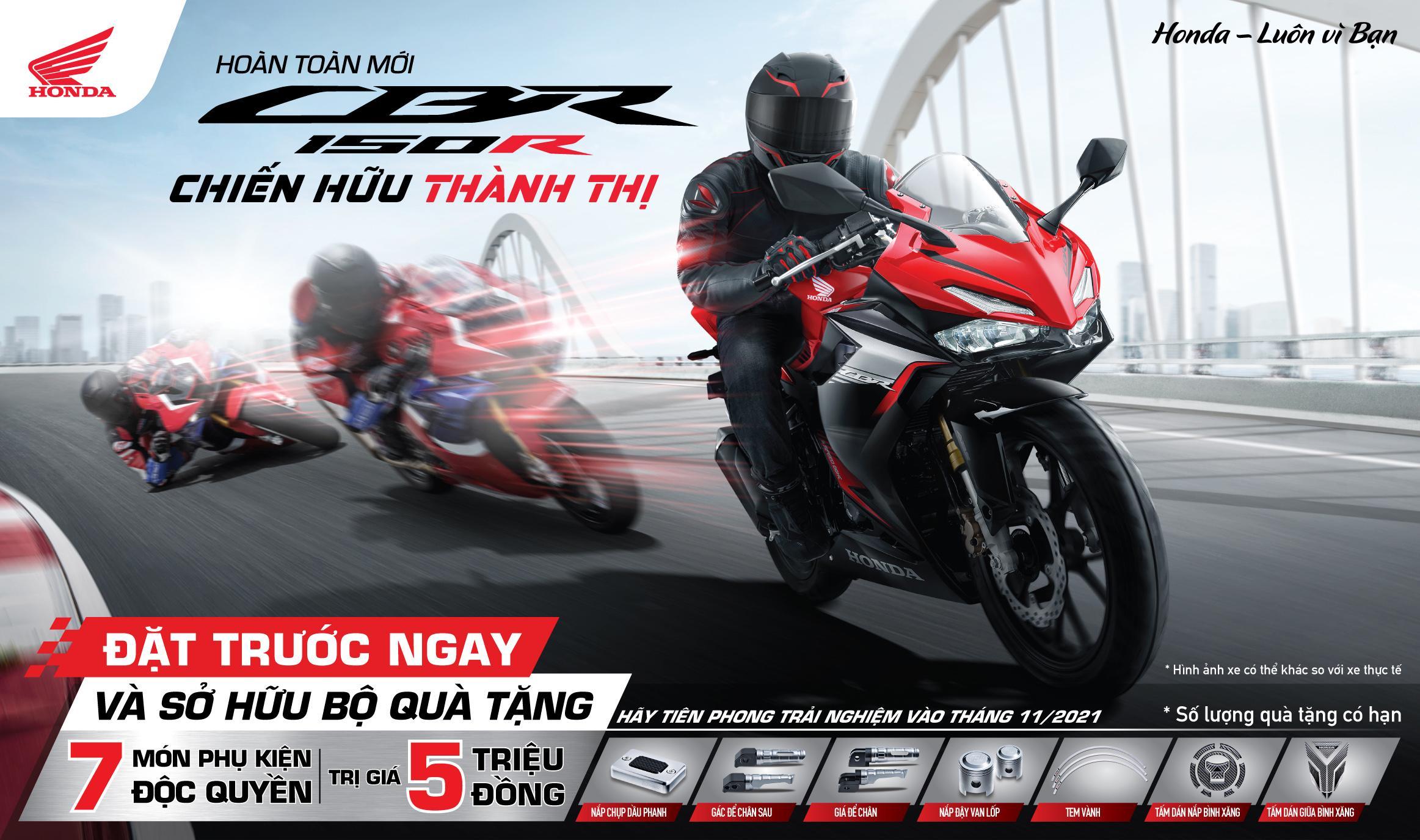 Honda Việt Nam chính thức giới thiệu mẫu xe hoàn toàn mới CBR150R