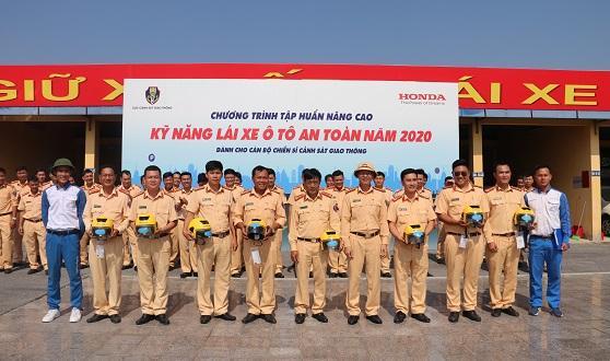 Honda Việt Nam và Cục Cảnh sát giao thông tổng kết kết quả triển khai các hoạt động phối hợp về An toàn giao thông năm 2020 và kế hoạch năm 2021