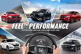 Feel The Performance Honda