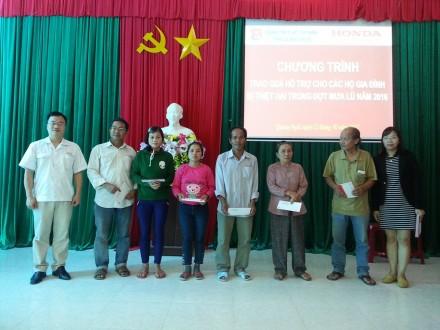 Honda Việt Nam tiếp tục chia sẻ khó khăn cùng đồng bào lũ lụt các tỉnh Nam Trung Bộ