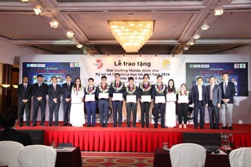 Honda Việt Nam tổ chức Lễ Trao tặng Giải thưởng Honda Y-E-S lần thứ 14 dành cho Kỹ sư và Nhà khoa học trẻ Việt Nam