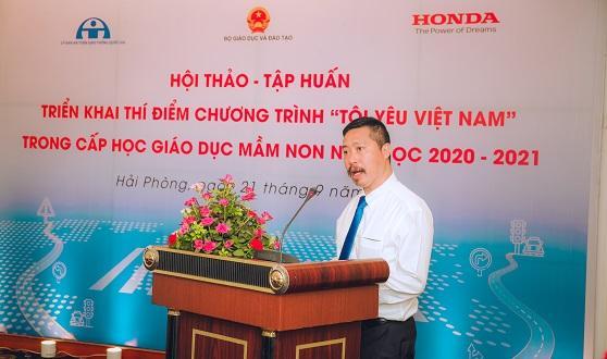 Honda Việt Nam tổ chức Hội thảo -  Tập huấn triển khai thí điểm chương trình giáo dục an toàn giao thông trong cấp học giáo dục mầm non năm học 2020-2021